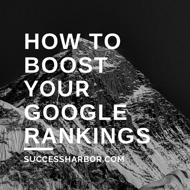 Secret Out – One Simple Tweak To Boost Your Google Rankings