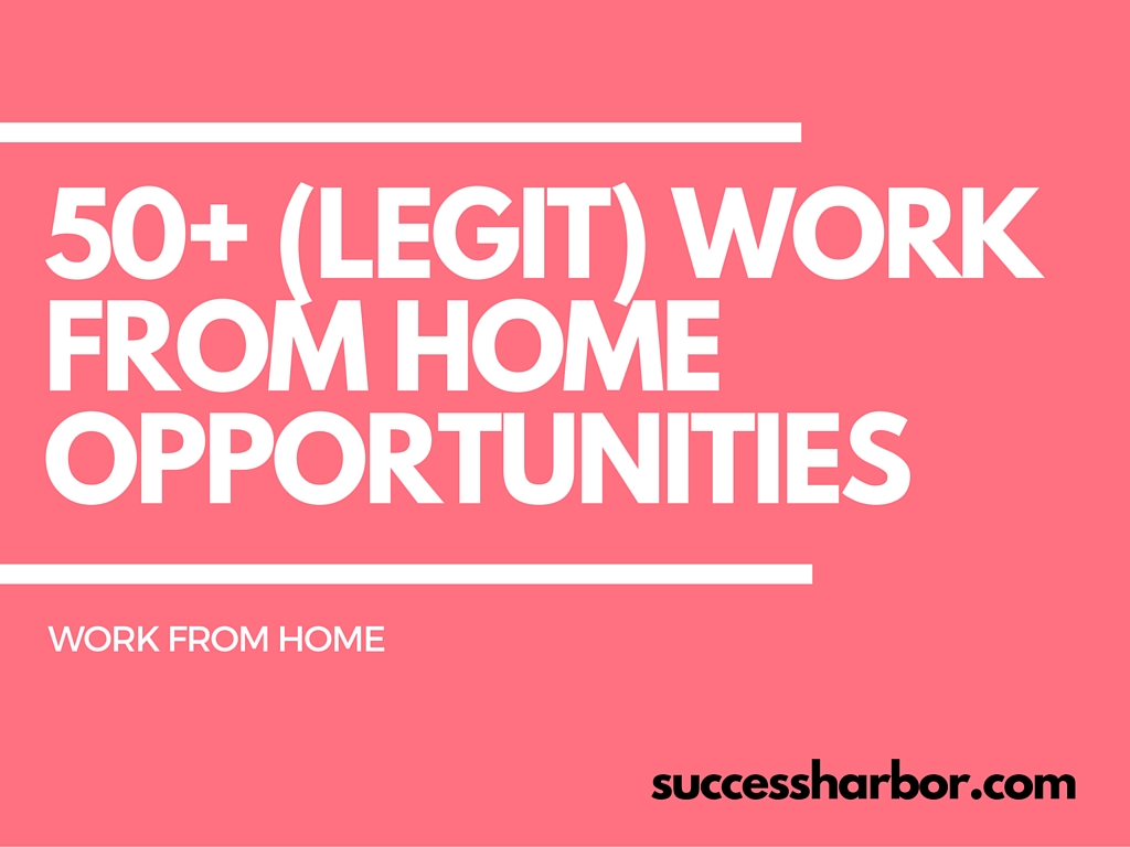 Best work from home options for moms