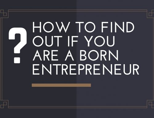 Are You a Born Entrepreneur